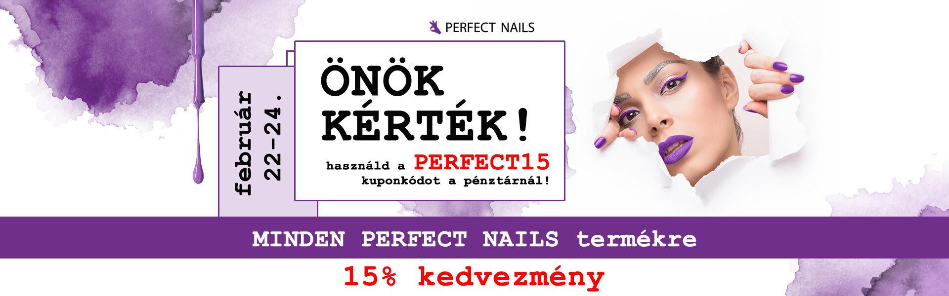 Perfecct Nails 15% kedvezm