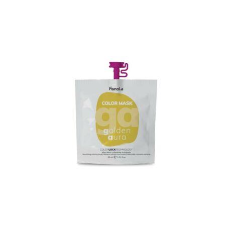 Fanola Color Mask, színező maszk, Golden Aura (arany) 30ml
