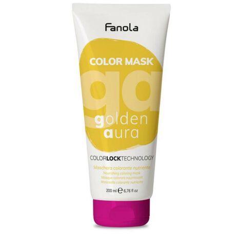 Fanola Color Mask, színező maszk, Golden Aura (arany) 200ml