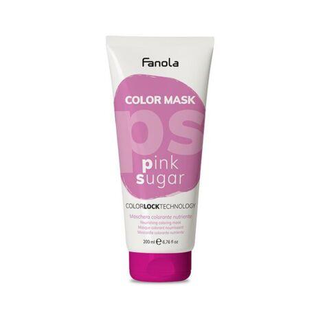 Fanola Color Mask, színező maszk, Pink Sugar (rózsaszín) 200ml