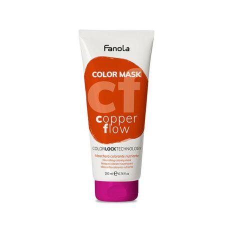 Fanola Color Mask, színező maszk, Copper Flow (réz) 200ml