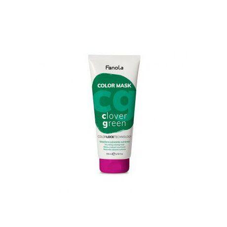 Fanola Color Mask, színező maszk, Clover Green  (zöld) 200ml
