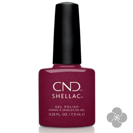 SHELLAC Rebellious Ruby, 7.3 ml
