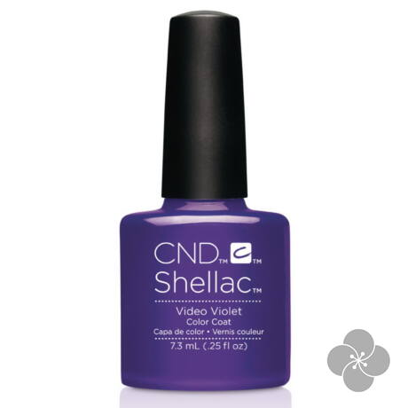 SHELLAC Video Violet, 7.3 ml