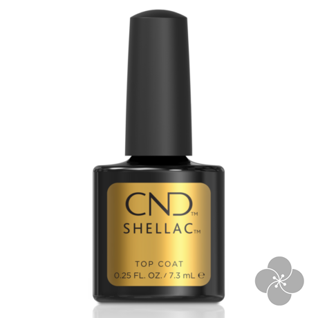 SHELLAC Original Top Coat, 7.3 ml