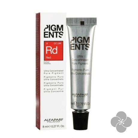 Pigments RED.6 hajszínező - 8 ml