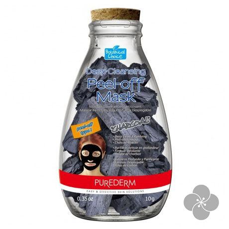 PureDerm mélytisztító fekete peel off maszk