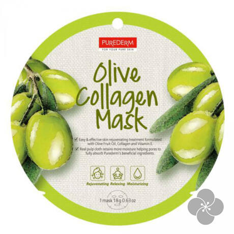 PureDerm Olive maszk circle