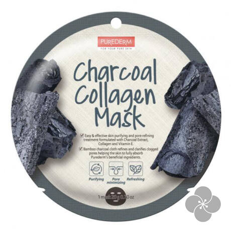 PureDerm Aktív szén maszk circle