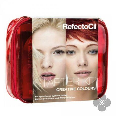 RefectoCil professzionális kezdő készlet kreatív színekkel