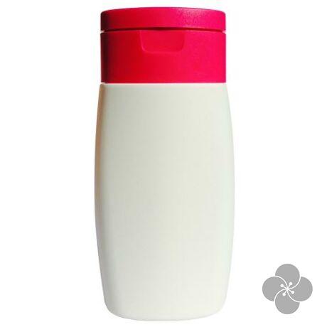 Flakon fehér, rózsaszín kupakkal 50ml