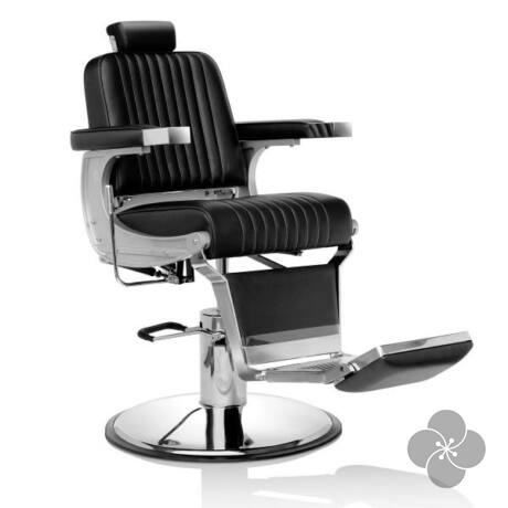 Hair Triumph fekete Barber szék