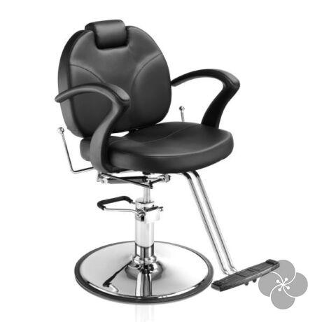Hair Vintage fekete unisex fodrász szék