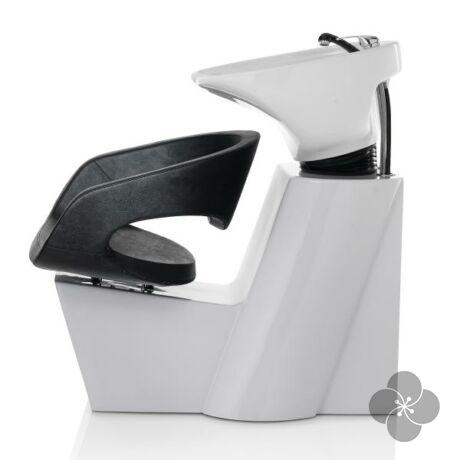 Wave fejmosó fehér talppal és fekete székkel