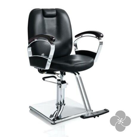 Hair Stylist fekete fodrász szék
