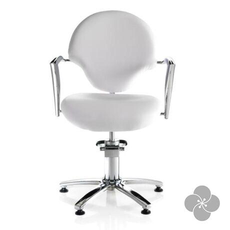 Hair Funny fehér fodrász szék
