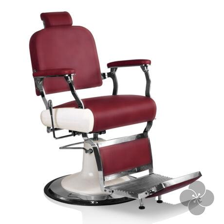 Hair Jaguar burgundi vörös Barber szék