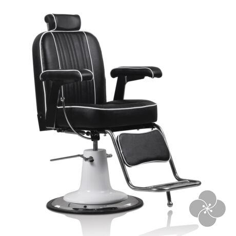 Hair Malaga fekete Barber szék