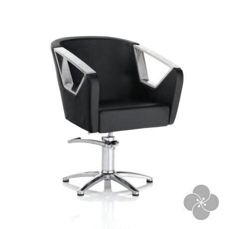 Hair Astra fekete fodrász szék - csillag talppal