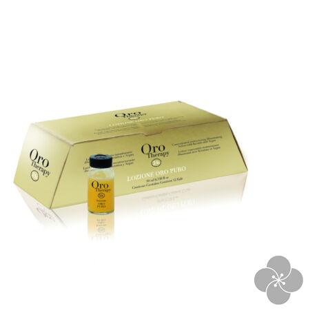 Fanola ORO THERAPY - Regeneráló szérum argán olajjal 12x10 ml