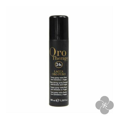 Fanola Oro Therapy - Erős hajlakk 100 ml