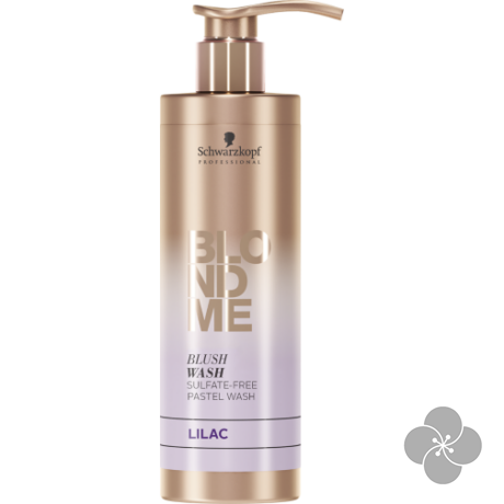 BlondMe Blush Washes Színező sampon Lila 250ml