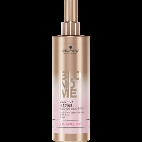 BlondMe Instant Blushes Pasztell színező spray Acélkék 250ml