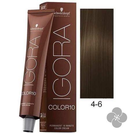 IGORA Color10 4-6 krémhajfesték 10 perc hatóidővel, 60 ml
