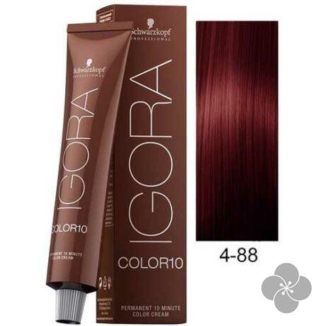 IGORA Color10 4-88krémhajfesték 10 perc hatóidővel, 60 ml