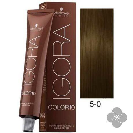 IGORA Color10 5-0 krémhajfesték 10 perc hatóidővel, 60 ml