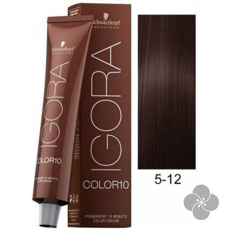 IGORA Color10 5-12 krémhajfesték 10 perc hatóidővel, 60 ml