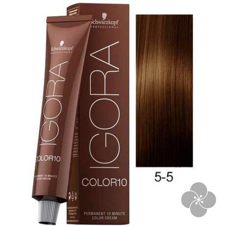 IGORA Color10 5-5 krémhajfesték 10 perc hatóidővel, 60 ml