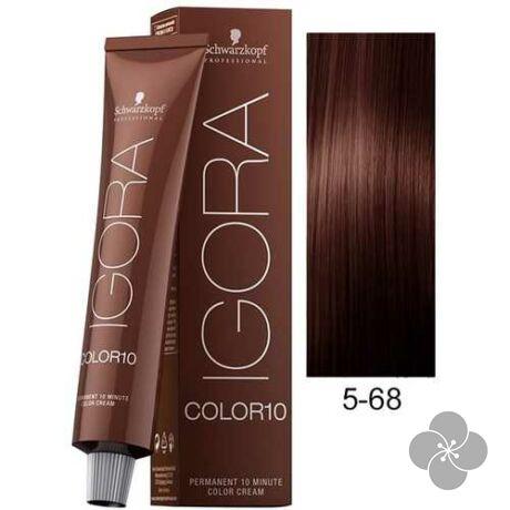 IGORA Color10 5-68 krémhajfesték 10 perc hatóidővel, 60 ml