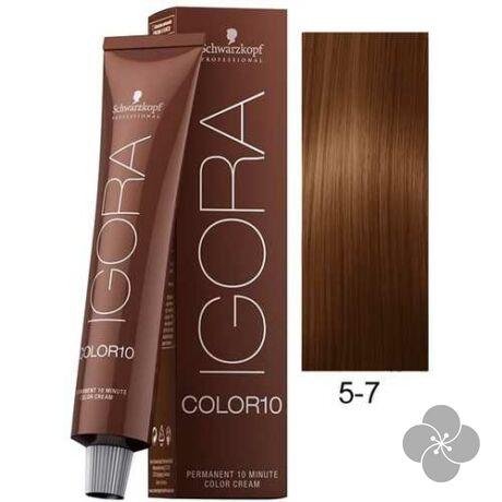 IGORA Color10 5-7 krémhajfesték 10 perc hatóidővel, 60 ml
