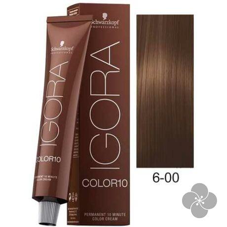 IGORA Color10 6-00krémhajfesték 10 perc hatóidővel, 60 ml