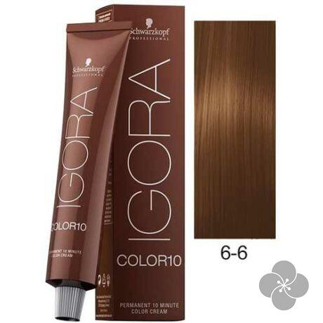 IGORA Color10 6-6 krémhajfesték 10 perc hatóidővel, 60 ml
