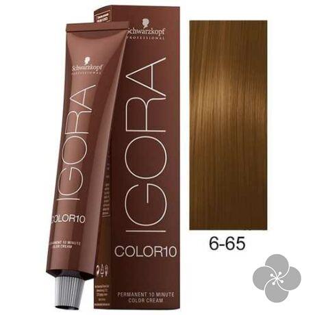 IGORA Color10 6-65 krémhajfesték 10 perc hatóidővel, 60 ml