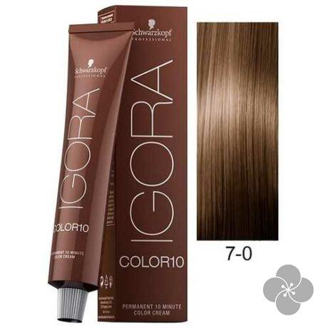 IGORA Color10 7-0 krémhajfesték 10 perc hatóidővel, 60 ml