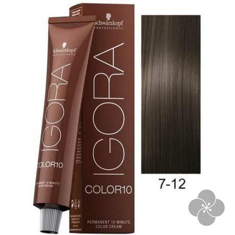 IGORA Color10 7-12krémhajfesték 10 perc hatóidővel, 60 ml