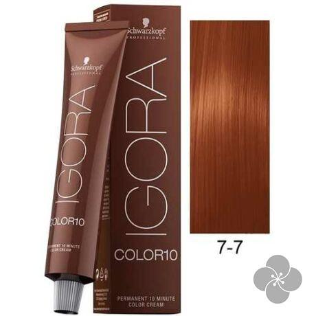 IGORA Color10 7-7krémhajfesték 10 perc hatóidővel, 60 ml