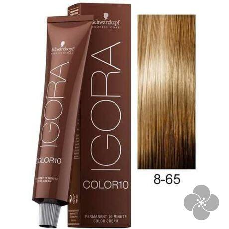 IGORA Color10 8-65 krémhajfesték 10 perc hatóidővel, 60 ml