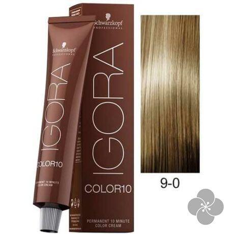 IGORA Color10 9-0 krémhajfesték 10 perc hatóidővel, 60 ml