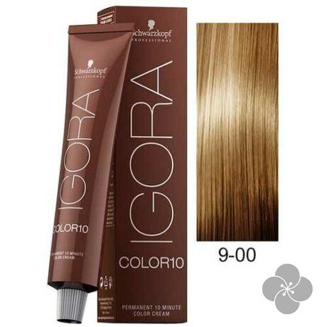 IGORA Color10 9-00 krémhajfesték 10 perc hatóidővel, 60 ml