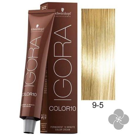 IGORA Color10 9-5krémhajfesték 10 perc hatóidővel, 60 ml