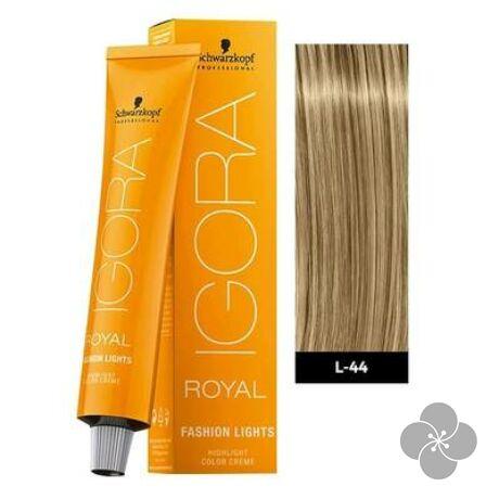 Igora Royal Fashion Lights L-44 krémhajfesték, 60ml
