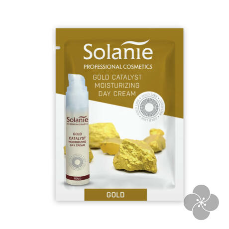 Solanie Minta Arany hidratáló nappali krém fényvédővel 3ml