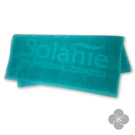 Solanie Frottír törölköző 50x90 cm Solanie zöld